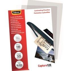 Fellowes Capture 125 mic 75x105mm Lamineringslomme