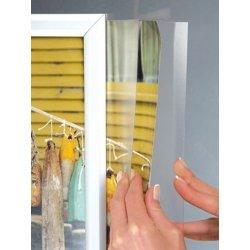 Alu Slide-in Plakatramme, Snap-frame, 50x70, Sølv