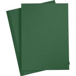 Paper Concept Karton, A4, 180g, 20 ark, grangrøn