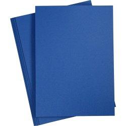 Paper Concept Karton, A4, 180g, 20 ark, midnatsblå