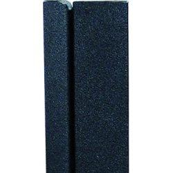 Crown enkeltside LED ramme, 50x70 cm, Sort