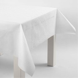 Happy Moments Bordløber, 30 cm x 10 m, hvid