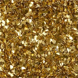 Glitterflager, guld, 30 g