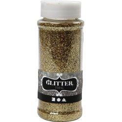 Glitterdrys, guld, 110 g