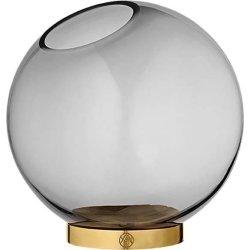 AYTM Globe Vase, Sort