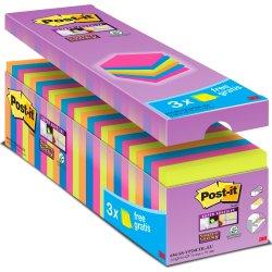 Post-it Super Sticky Notes. 24 blokke 76 x 76 mm