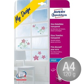 Avery MD3002 Glass transfers, A4