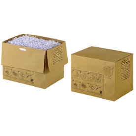 Rexel 1765031EU genbrugsmakulatorposer 26L, 20 stk