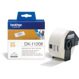 Brother stor adresse etiket 38x90 mm