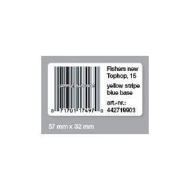 Dymo universal-etiket 32x57 mm (1000 stk.)