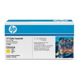 HP CE262A lasertoner, gul, 11000s
