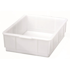 Lagerkasse 13 l, Hvid, (LxBxH) 420x320x125 mm