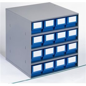 Lagermagasin eks. systemkasse  (DxH) 400x81 mm