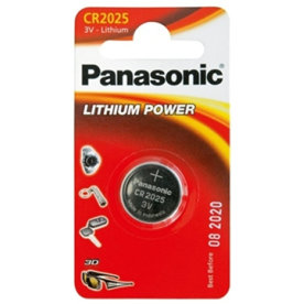 Panasonic CR2025 knapcelle batteri
