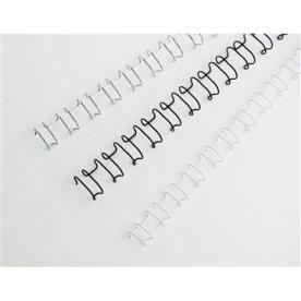 GBC metal spiralryg A4, 21 rings, 10mm, sort