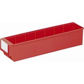 Systemkasse 3, (DxBxH) 400x91x81, Rød
