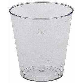 Plastglas 3 cl, snaps