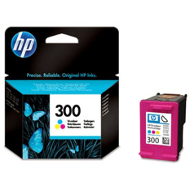 HP nr.300/CC643EE blækpatron, 3-farvet, 165s