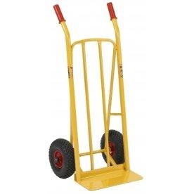 Ravendo sækkevogn med bæreplade, lufthjul, 250 kg