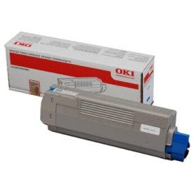 OKI 44315307 lasertoner, blå, 6000s