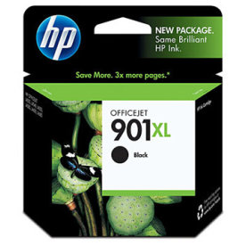 HP nr.901XL/CC654AE blækpatron, sort, 700s