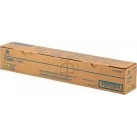 Konica Minolta A11G251 lasertoner, gul, 26000s