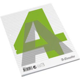 Esselte standardblok A4, linjeret, toplimet