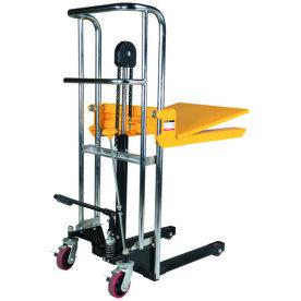 Mini-stabler m/manuelt løft, 85-1200 mm, 400 kg
