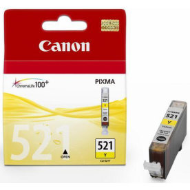 Canon CLI-521Y Blækpatron, gul, 9ml