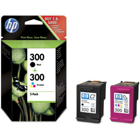 HP 300/CN637EE blækpatron, sampak, 200s.