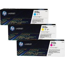 HP nr. 312A/CF440AM lasertoner, 3-farver, 2700 s.