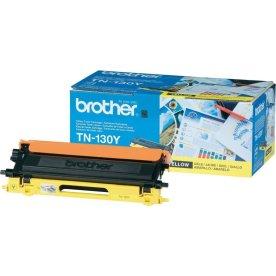 Brother TN130Y lasertoner, gul, 1500s