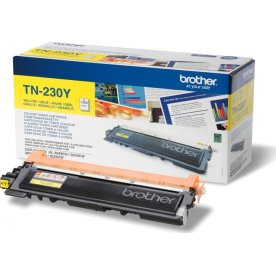 Brother TN230Y lasertoner, gul, 1400s