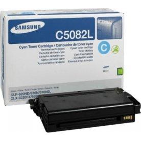 Samsung CLT-C5082L lasertoner, blå, 4000s