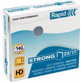 Rapid Strong 23/10 Hæfteklammer, 1000 stk.