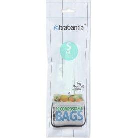 Brabantia Affaldspose S, 6 liter, 10 stk.