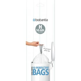 Brabantia Affaldspose H, 50 liter, 10 stk.