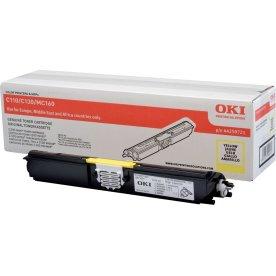 OKI 44250721 lasertoner, gul, 2500s