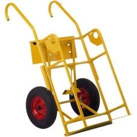 Ravendo ilt- og gasvogn 121 liter, lufthjul