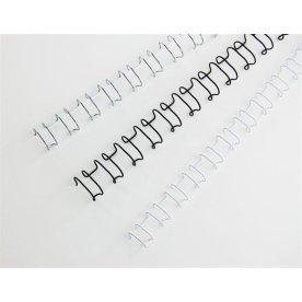 GBC metal spiralryg A4, 21 rings, 12mm, sort
