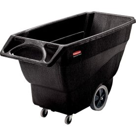 Rubbermaid Tip Container, 600 liter, sort
