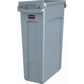 Rubbermaid Slim Jim affaldsbeholder, 87 liter, Grå