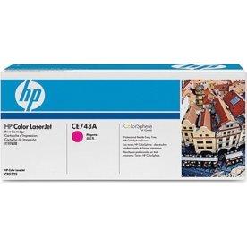 HP CE743A lasertoner, rød, 7300s