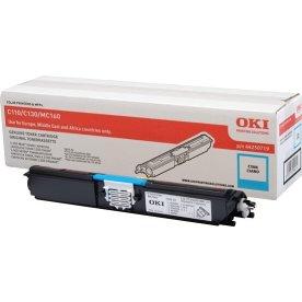 OKI 44250723 lasertoner, blå, 2500s