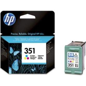 HP 351/ CB337EE blækpatron, farve, 170s