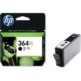 HP 364XL/CN684EE blækpatron, sort, 550s