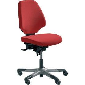 RH Activ 222 kontorstol høj ryg, bredt sæde rød