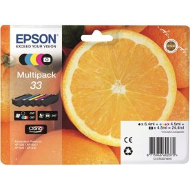 Epson 33 blækpatroner, sampak