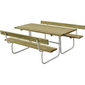 Plus Classic bord-bænkesæt m. ryglæn, Natur
