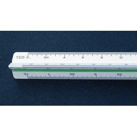 Linex 318 trekantet målestok, 300mm
